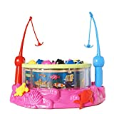 #4: Adraxx Musical Magnetic Fishing Game Toy