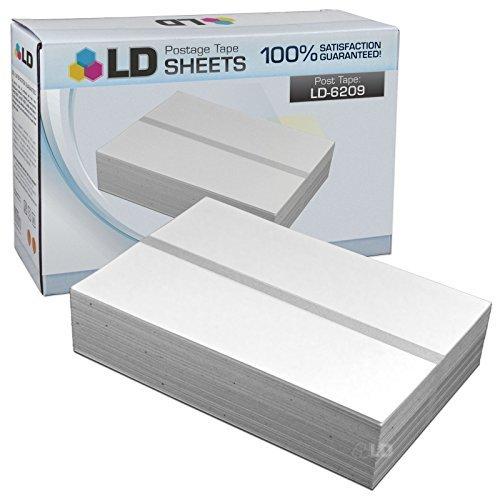 LD Compatible de repuesto para Pitney Bowes 620–9(300cintas, cinta de envío 150en cada caja), 2(doble hojas para Mailstation K700K7m0), Personal Post metros DM100i, SM125i, DM125, DM200L, y E700
