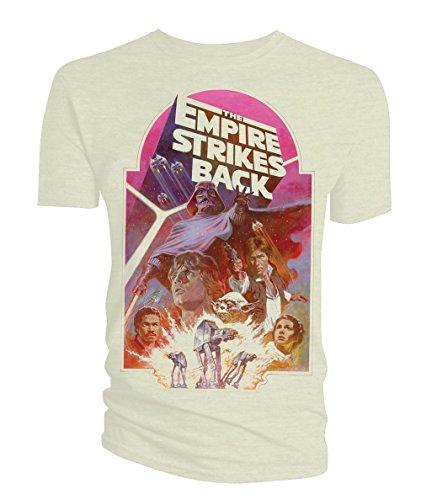 Star Wars T-Shirt Empire Strikes Back Poster Size L Titan Merchandise shirts (Star Wars Anikan)