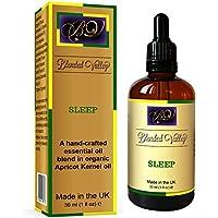 Schlaf Öl SLEEP- Ätherische Öle aus Lavendel, Kamille und Bergamotte in Aprikosenkernöl. Für Aroma Diffuser, Ölbrenner... preisvergleich bei billige-tabletten.eu