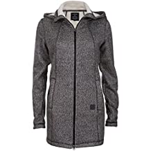 New View Damen Strick-Fleecejacke   Strickjacke mit Fleece Innenfutter    Kapuzen-Jacke   f612e81ba7