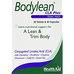 51nWsbO 8TL. SS300  - HealthAid Bodylean CLA Plus - Conjugated Linoleic Acid, Co Q10, Green Tea - 30 Capsules &  30 Tablets