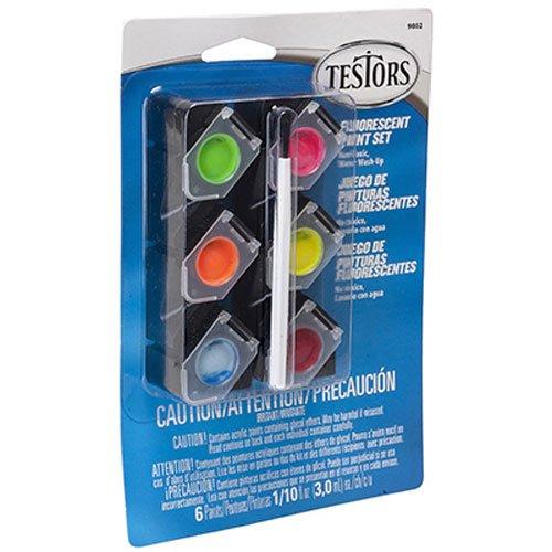 TESTOR CORPORATION 9002 0 10-Ounce Fluorescent Acrylic Pod Set