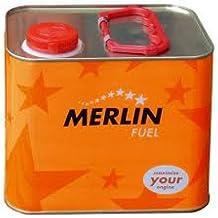 Combustible para coches de radiocontrol de gasolina. Merlin Expert 16% Nitrometano. Lata de