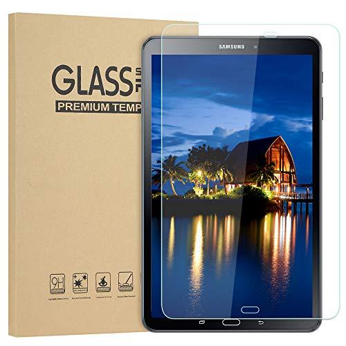 Sylanda Samsung Galaxy Tab A 10.1 Schutzfolie Panzerfolie, HD Ultra Klar Displayschutzfolie 3D 9H Härtegrad Anti-Kratzer Anti-Fingerabdruck Displayschutz für Samsung Galaxy Tab A 10.1 2016 T580/T580N