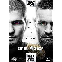 Desconocido UFC 229 Khabib Nurmagomedov vs Conor Mcgregor Póster Foto Las Vegas 2018 (A5-