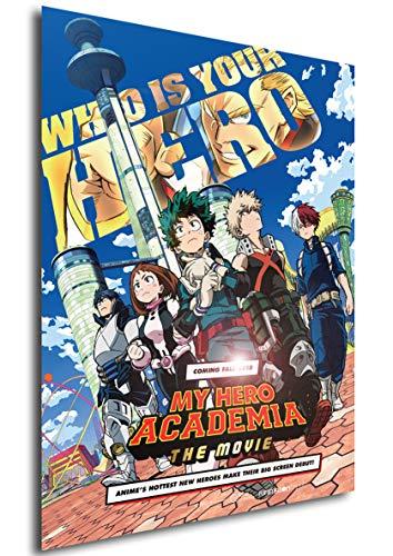 Instabuy Cartèl Boku No Hero Academia The Movie A4 30x21