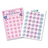 Ballerina Reward Chart with Stickers