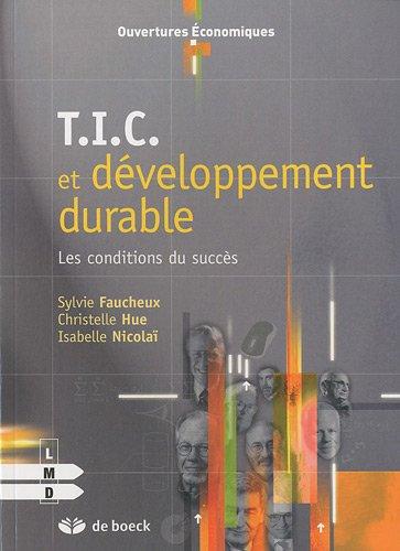 TIC et développement durable : Les conditions du succès