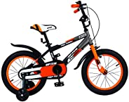 Upten Furious Kid's Bike for Boys and Girls, 12 14 16 18 inch with Training Wheels Children Bicycles, in M