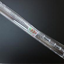 5 x Bisagra bisagras continua de plástico transparente clara acrílica de 300mm para piano
