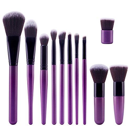 topbeauty-kit-de-pinceau-maquillage-professionnel-11-pcs-ombre-a-paupiere-dore-blush-fondation-pince