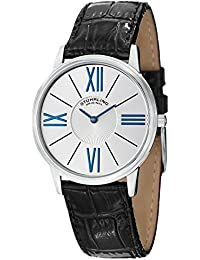 Stuhrling Original Classic Analog Silver Dial Men's Watch - 533.01