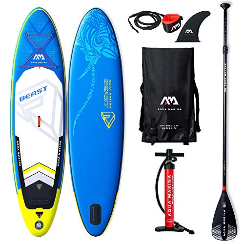 Aqua Marina Stand Up Paddle Gonfiabile SUP AQUAMARINA Beast 2019 Full Pack 320x81x15cm