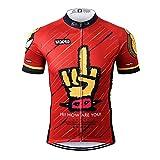 Thriller Rider Sports® Uomo Funny Sport e Tempo Libero Abbigliamento Ciclismo Magliette Manica Corta