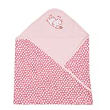 Lula baby Hooded-2 Ply Blanket Wrap