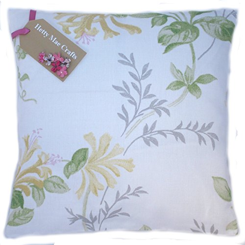 (40.64 cm Hetty Mae Crafts Kissen, handgefertigt in UK, Laura Ashley-Design Honeysuckle Trail Kamille Stoff)