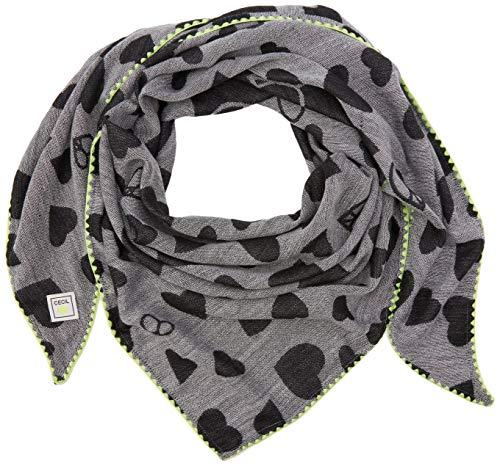 Cecil Damen 570921 Schal, Mehrfarbig (Black 30001), One Size (Herstellergröße:A)
