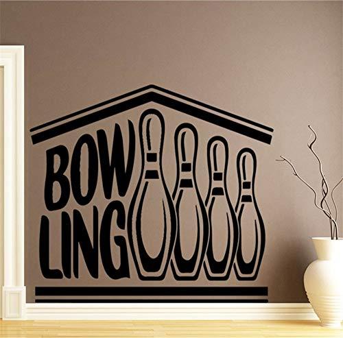 Bowling Wandaufkleber Dekoration Zubehör Für Kinderzimmer Kinderzimmer Dekor Home Party Decor Tapete 58 * 75 Cm ()