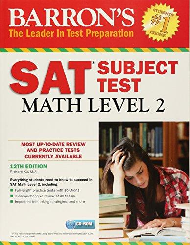 Sat Math Level 2 (Barrons Sat Subject Test)