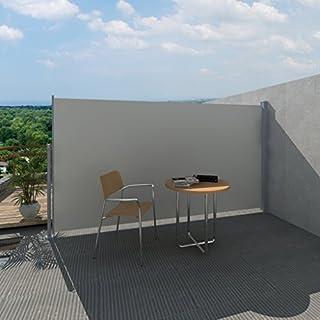 Anself Garden Patio Terrace Side awning Cream, 180 x 300 cm