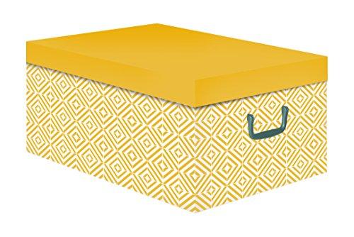 Compactor Nordic baulotto, cartón, Amarillo, 50x 40x 25cm