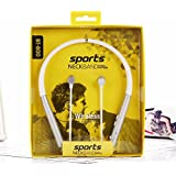 BT800 Earphone Sports Neckband Stereo Headphone With Wireless, SweatProof With Mic And Magnetic Latch