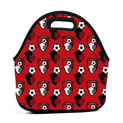 Dorothyyan AFC Bournemouth Lunch Bag Multicolor,for Kids Adult Thermal  Insulated Tote Bags