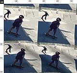 Kinder, Jungen, Skateboard, Sommer, Stoffe - Individuell