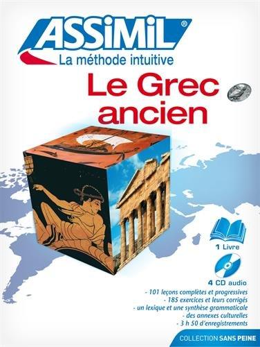 Le Grec ancien (1 livre + 4 CD Audio)