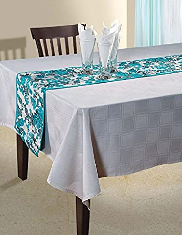 Canard Floral coton indien Table Runner - 13