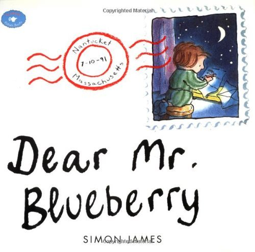 Dear Mr. Blueberry (Aladdin Picture Books) by Simon James (1-Jun-1996) Paperback