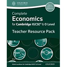Complete Economics for Igcserg and O-level: Teacher Resource Pack (Complete Series Igcse)