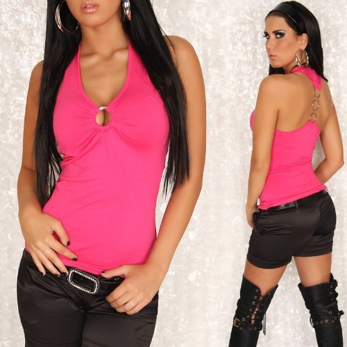 sexy-top-kurzarmshirt-party-disco-sommermode-strandmode-mit-ringe-nk10-farbe-pink