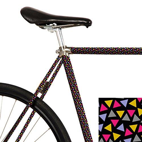 MOOXI-Bike Fahrrad-Folie Konfetti (ausreichend für Teilbereiche) (Lila Pimp In)