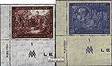 Alliierte Bes.-Gem.Ausg. 941-942 mit Druckvermerk (kompl.Ausg.) 1947 Leipziger Messe (Briefmarken für Sammler)