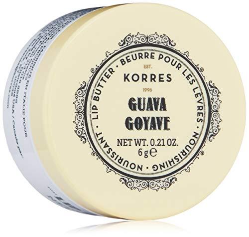 Korres Lip Butter Guava/Colourless, 1er Pack (1 x 6 g) -