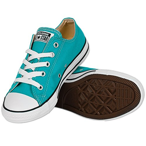 Converse Ctas Season Ox, Baskets Basses Mixte Enfant Cyan Space