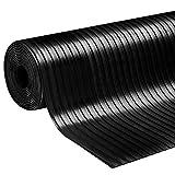 Gummiläufer | Meterware in vielen Größen | Gummimatten mit rutschhemmender Oberflächenstruktur | Breitriefen 120x500 cm | Stärke: 3 mm