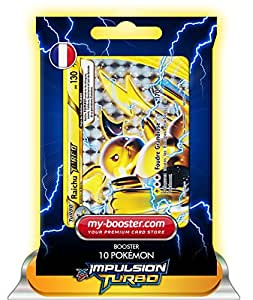 RAICHU TURBO 50/162 130PV XY08 IMPULSION TURBO - Booster de 10 cartes Pokemon francaises my-booster