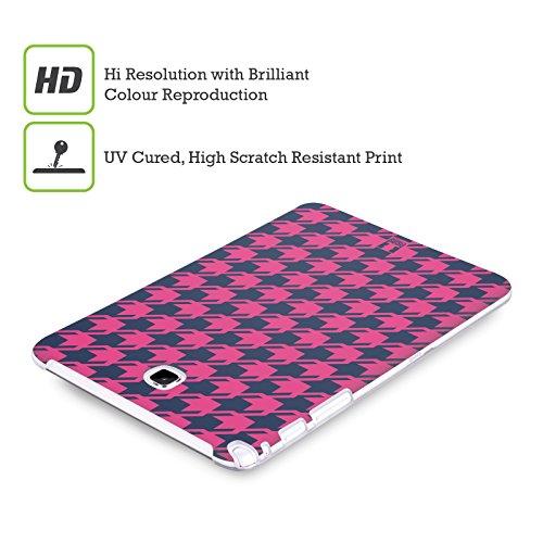Head Case Designs Occhiali Pattern Hipster Cover Morbida In Gel Per Apple iPhone 5 / 5s / SE Rosa E Blu