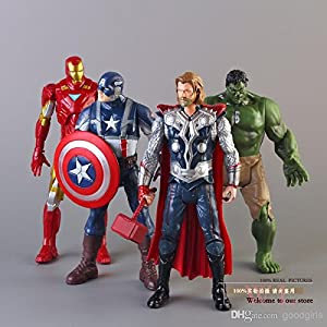 World of Needs 4 in 1 Avengers Age of Ultron Toy Action Figures (Multicolour) WON BRAND Best Online Shopping Store