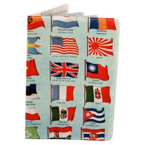 Preisvergleich Produktbild Reisepasshülle Flaggen der Welt