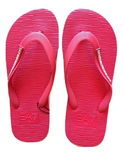 Emporio armani ciabatte infradito rosa flip flop donna 905002 7p295 05873 n.36
