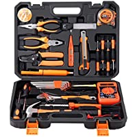 Cassetta degli attrezzi Juego de herramientas de hardware Caja de herramientas para el hogar Herramienta de reparación de múltiples funciones Conjunto de combinación de caja de herramientas para el ho