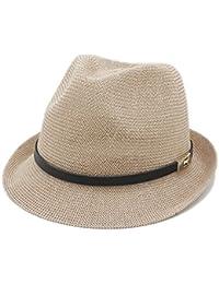 GBY Cappello Estivo da Donna Cappello da Uomo Cappello da Sole Lettera papà  Boater Cappello da 8678ead26577