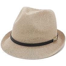 XZP Las Mujeres de los Hombres del Sombrero del Sol del Verano para el  Caballero Letra df43f8a145e