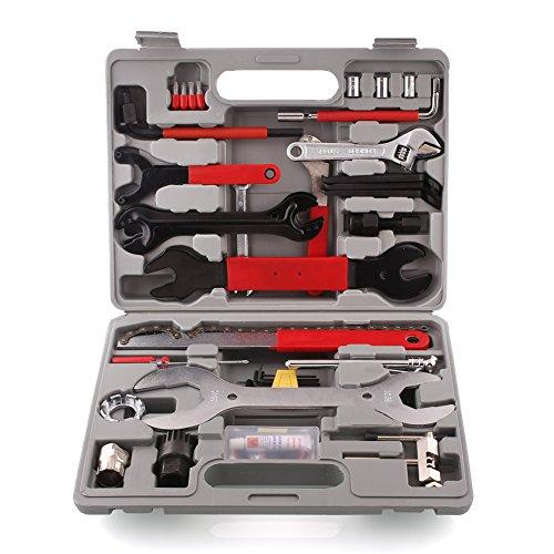 Preisvergleich Produktbild MVPower® 44 tlg Fahrrad Werkzeugkoffer Reparatur multi Function Werkzeug Koffer Bike Tool Box Set