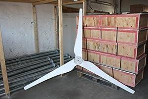Windkraftanlage 1000 W, 1kW Komplett Set - Windturbine WKA 1 000 by Qubeat GmbH