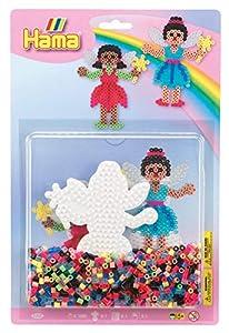 Hama 10.4205 Fairies - Juego de Cuentas para Mosaico (tamaño Grande), diseño de Hadas